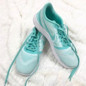 Nike -Teal Free Runs